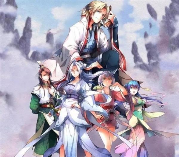 Once Upon A Time There Was A Spirit Sword Mountain Anime
