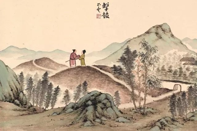 Chinese love poems Beating the Drum