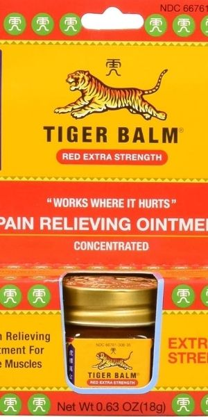 best Chinese products Tiger Balm
