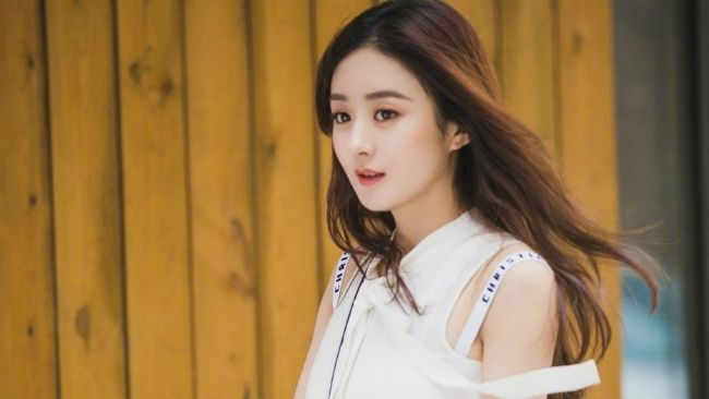 Chinese actresses Zhao Liying